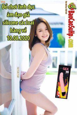 Đồ chơi tình dục âm đạo giả silicone các loại hàng về 10.08.2020