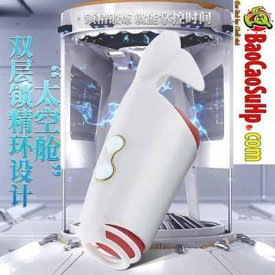 Máy massage dương vật và thủ dâm New Space Capsule new 2020