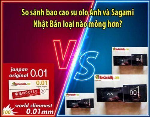 so sanh bao cao su olo vs sagami bia 500x389 - So sánh bao cao su olo Anh và Sagami Nhật Bản loại nào mỏng hơn?