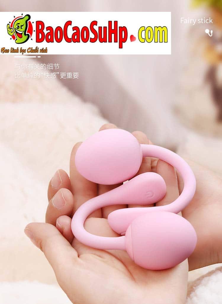 trung rung tinh yeu tampo 13 - Đồ chơi tình dục Trứng rung điều khiển từ xa Tampo bẻ 360 độ
