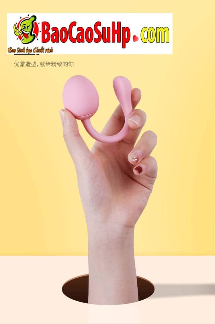 trung rung tinh yeu tampo 14 - Đồ chơi tình dục Trứng rung điều khiển từ xa Tampo bẻ 360 độ
