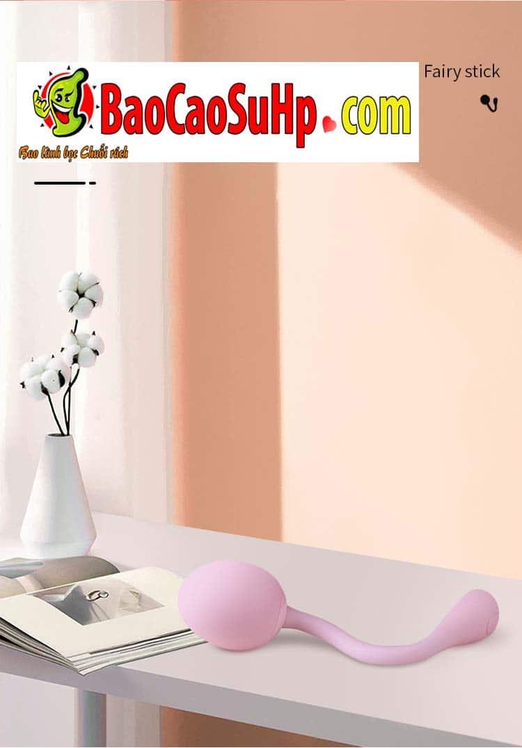 trung rung tinh yeu tampo 16 - Đồ chơi tình dục Trứng rung điều khiển từ xa Tampo bẻ 360 độ