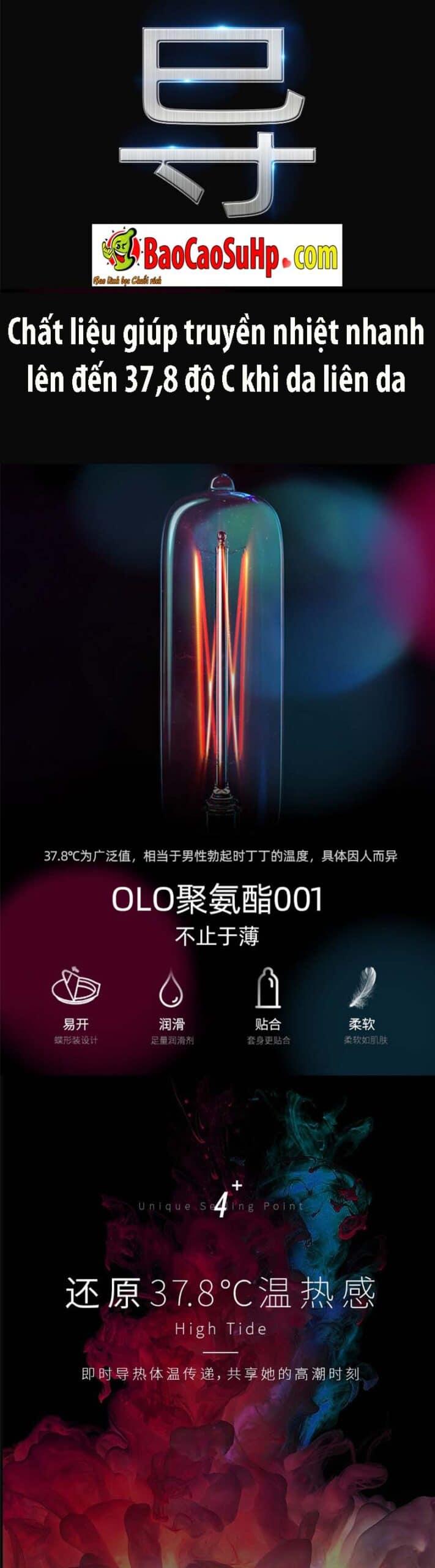Bao cao su polyurethane 001 Olo 9 scaled - Bao cao su Prenium siêu mỏng  polyurethane 0,01 Olo