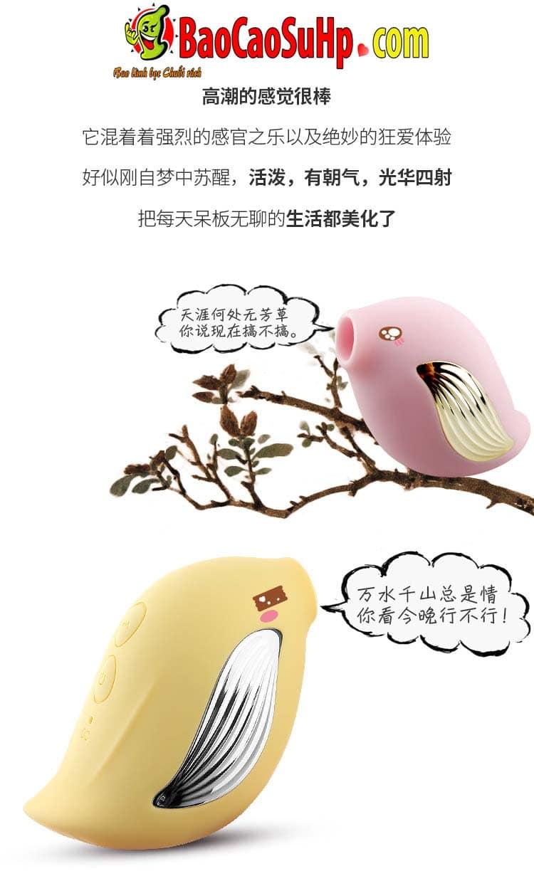 Sextoy may hut Angel Bird 11 - Sextoy máy hút Angel Bird chú chim nổi loạn dễ thương tự sướng cho chị em.