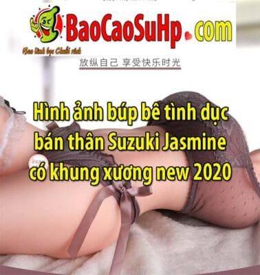 Hình ảnh búp bê tình dục bán thân Suzuki Jasmine có khung xương new 2020