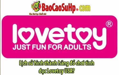 lich su hinh thanh hang Lovetoy bia 500x318 - Lịch sử hình thành hãng đồ chơi tình dục Lovetoy USA?