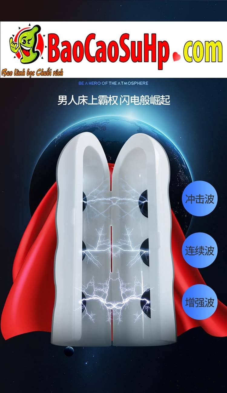 may tap duong vat sieu vi dien White Long men 10 - Máy tập dương vật siêu vi điện White Long men thế hệ mới 2020