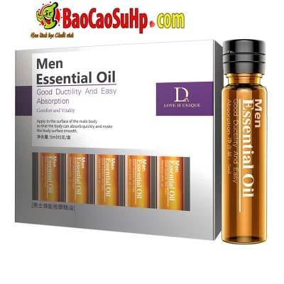 Gel massage body Men Essential Oil 1 - Gel massage body Men Essential Oil 25ml