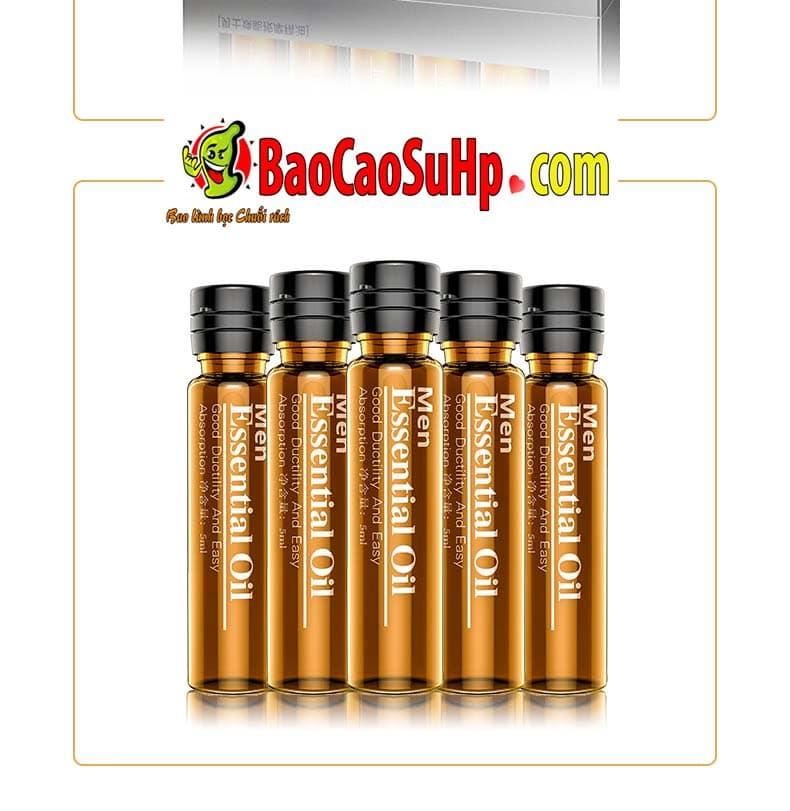 Gel massage body Men Essential Oil 10 - Gel massage body Men Essential Oil 25ml