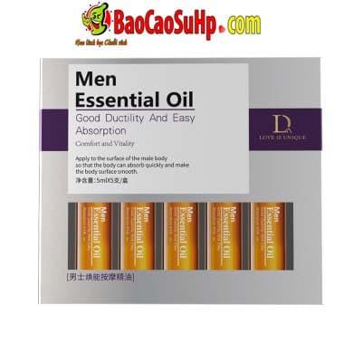 Gel massage body Men Essential Oil 2 - Gel massage body Men Essential Oil 25ml