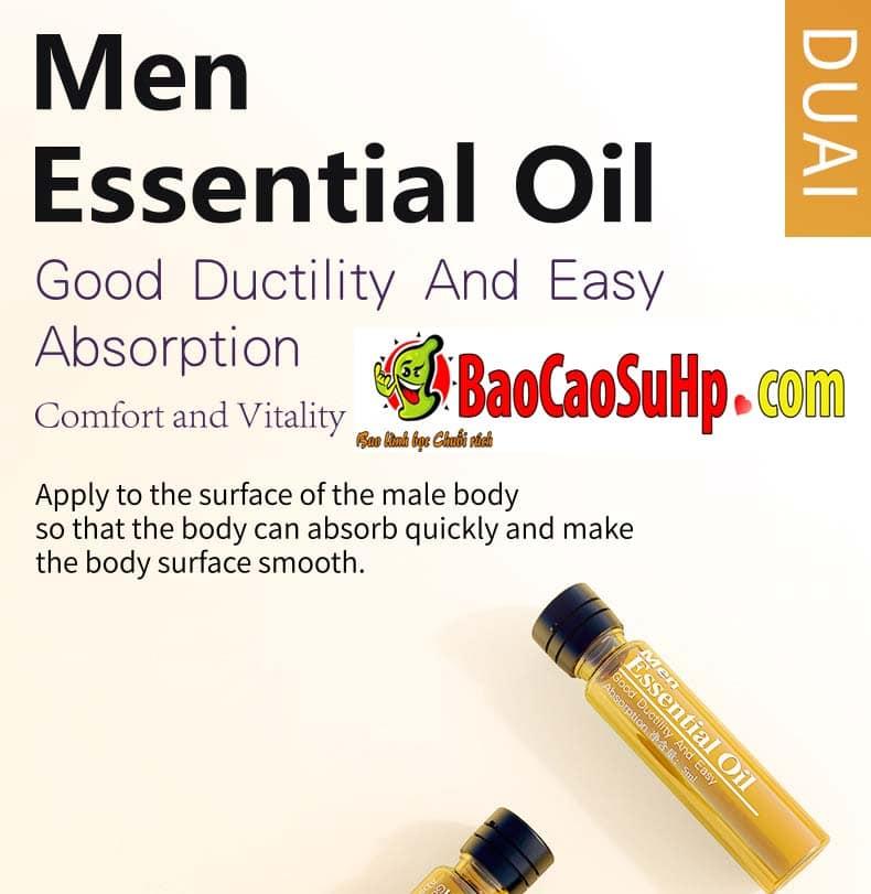 Gel massage body Men Essential Oil 4 - Gel massage body Men Essential Oil 25ml