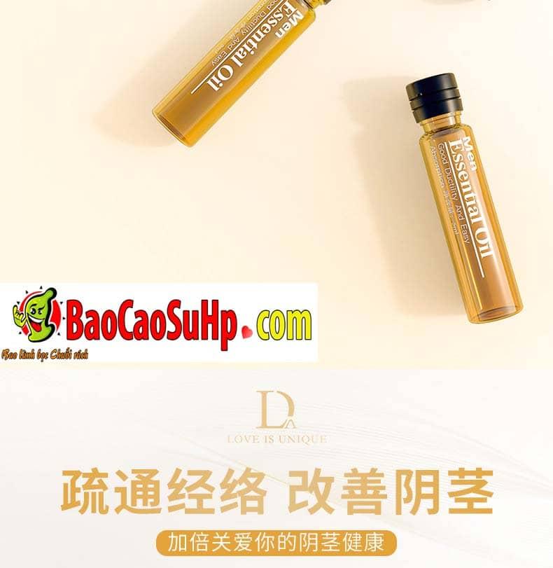 Gel massage body Men Essential Oil 5 - Gel massage body Men Essential Oil 25ml