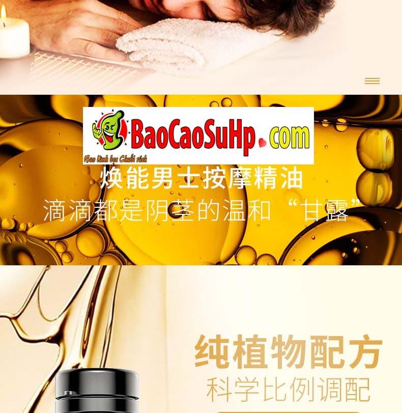 Gel massage body Men Essential Oil 7 - Gel massage body Men Essential Oil 25ml