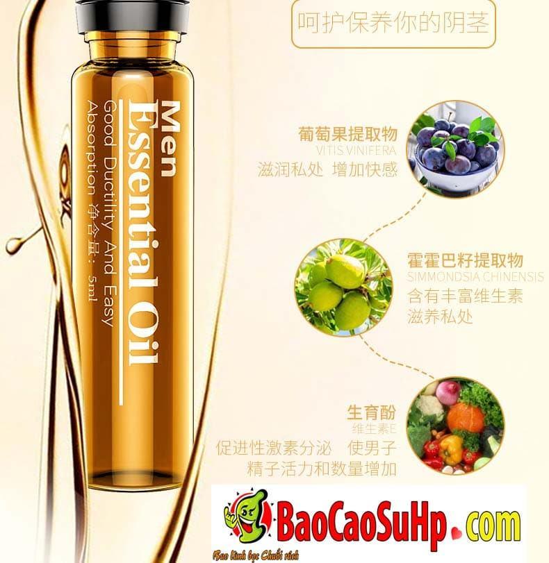 Gel massage body Men Essential Oil 8 - Gel massage body Men Essential Oil 25ml