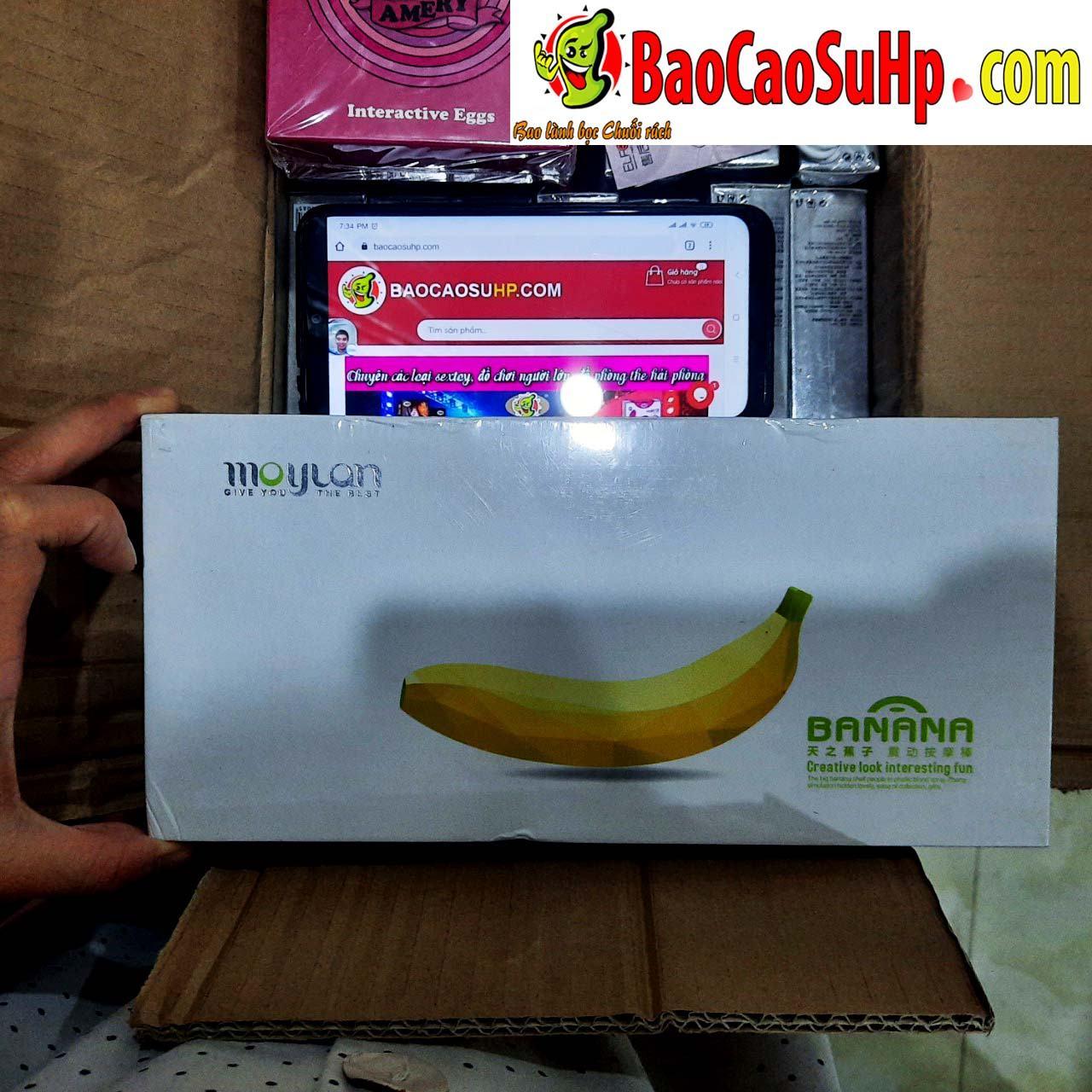 Sextoy Duong vat gia banana hinh trai chuoi - Hàng về 23.10.2020 các loại mông trứng rung tình yêu.