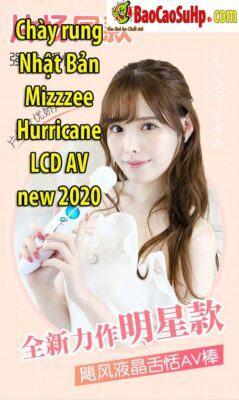 Chày rung Nhật Bản Mizzzee Hurricane LCD AV new 2020