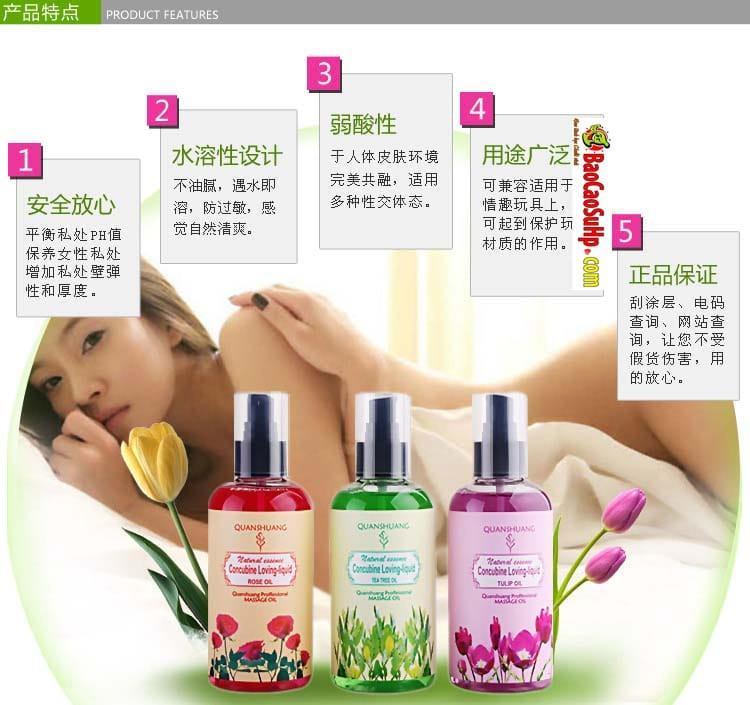 gel boi tron body Concubine Loving Liqud 8 - Gel massage xoa bóp body Concubine Loving Liqud