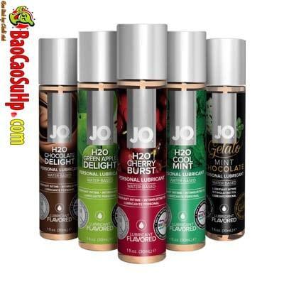 gel boi tron system Jo Fruity 1 - Gel bôi trơn Mỹ Jo H20 Fruity thơm vị thiên nhiên dành cho vợ chồng 2in1
