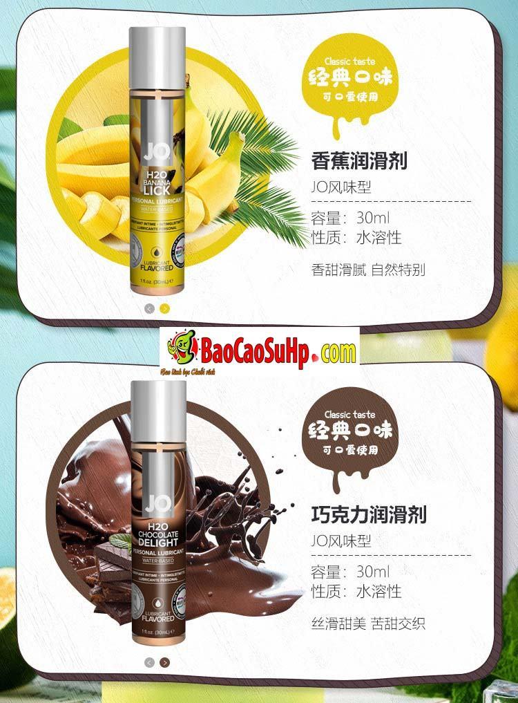 gel boi tron system Jo Fruity 11 - Gel bôi trơn Mỹ Jo H20 Fruity thơm vị thiên nhiên dành cho vợ chồng 2in1