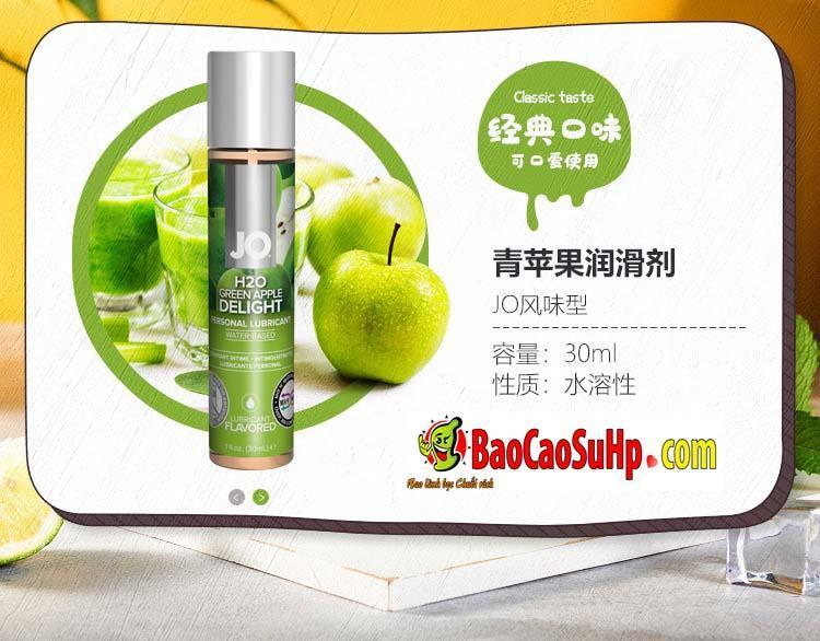 gel boi tron system Jo Fruity 14 - Gel bôi trơn Mỹ Jo H20 Fruity thơm vị thiên nhiên dành cho vợ chồng 2in1