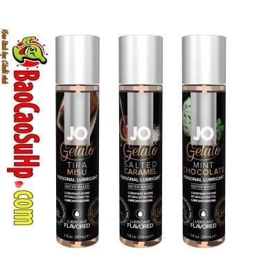 gel boi tron system Jo Fruity 2 - Gel bôi trơn Mỹ Jo H20 Fruity thơm vị thiên nhiên dành cho vợ chồng 2in1