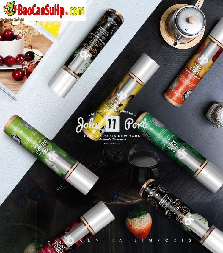 gel boi tron system Jo Fruity 4 - Gel bôi trơn Mỹ Jo H20 Fruity thơm vị thiên nhiên dành cho vợ chồng 2in1
