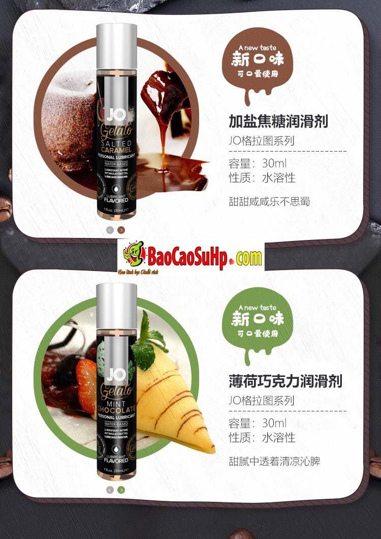 gel boi tron system Jo Fruity 9 - Gel bôi trơn Mỹ Jo H20 Fruity thơm vị thiên nhiên dành cho vợ chồng 2in1