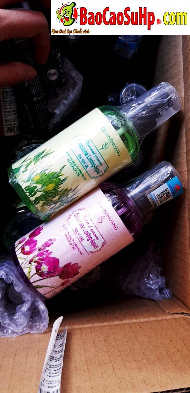 gel massage tinh dau - Gel massage xoa bóp body Concubine Loving Liqud