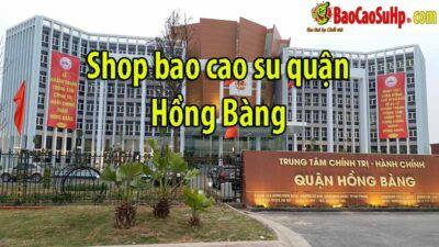 Shop bao cao su tại quận Hồng Bàng giá tốt ship nhanh