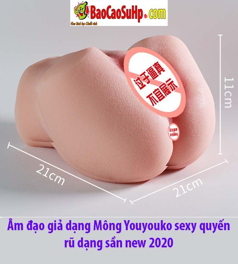 Mong Youyouko sexy 2 - Âm đạo giả dạng Mông Youyouko sexy quyến rũ dạng sần new 2020