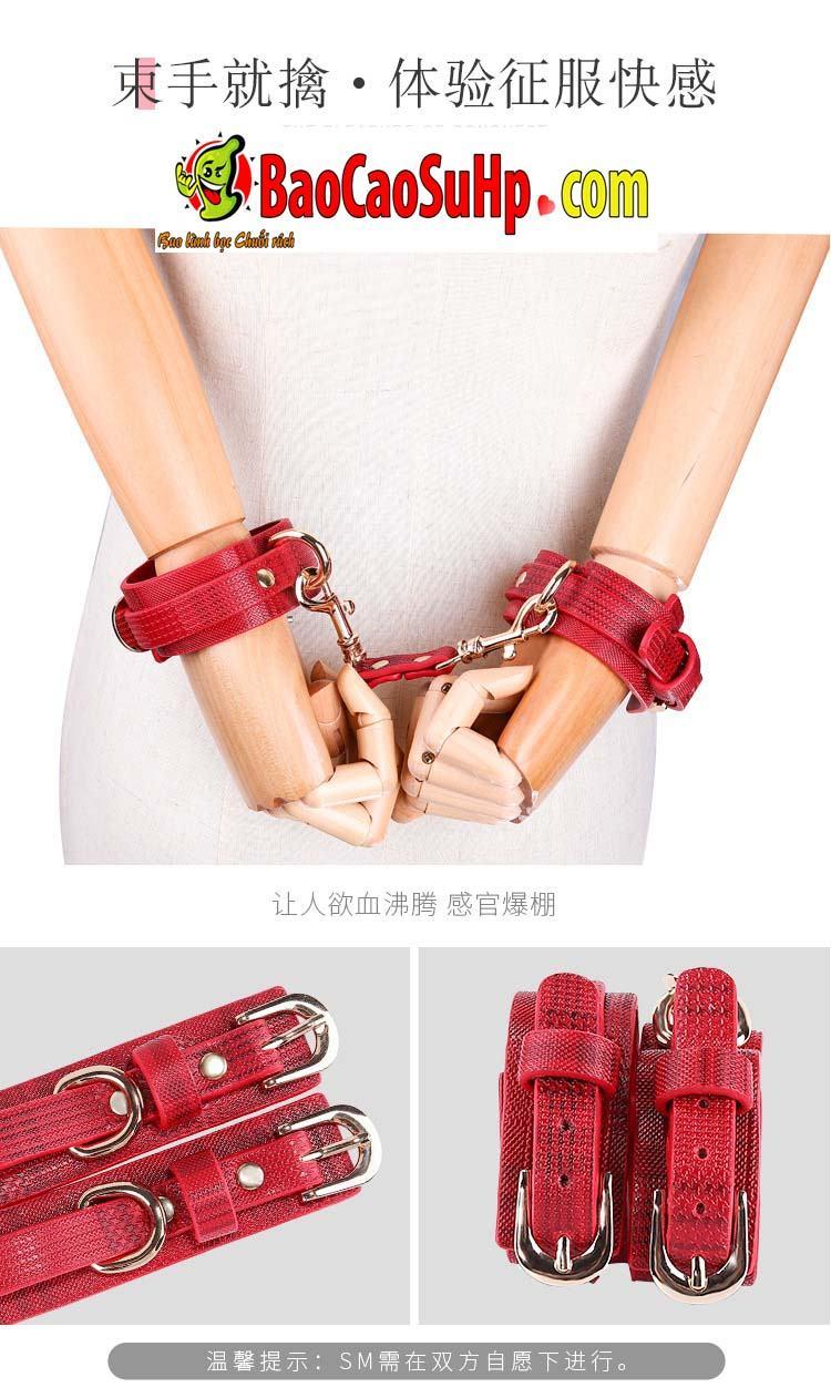bo bao dam 18 mon Miji Leather Bundle 12 - Bộ Sm bạo dâm 18 món Miji Leather Bundle cao cấp sự khác biệt
