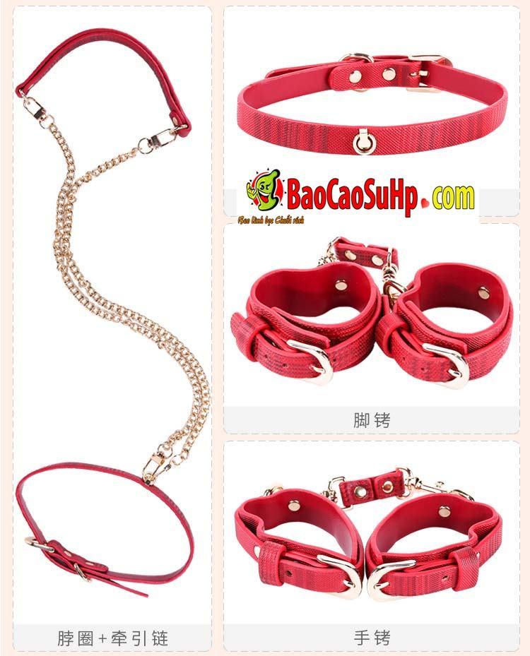 bo bao dam 18 mon Miji Leather Bundle 14 - Bộ Sm bạo dâm 18 món Miji Leather Bundle cao cấp sự khác biệt