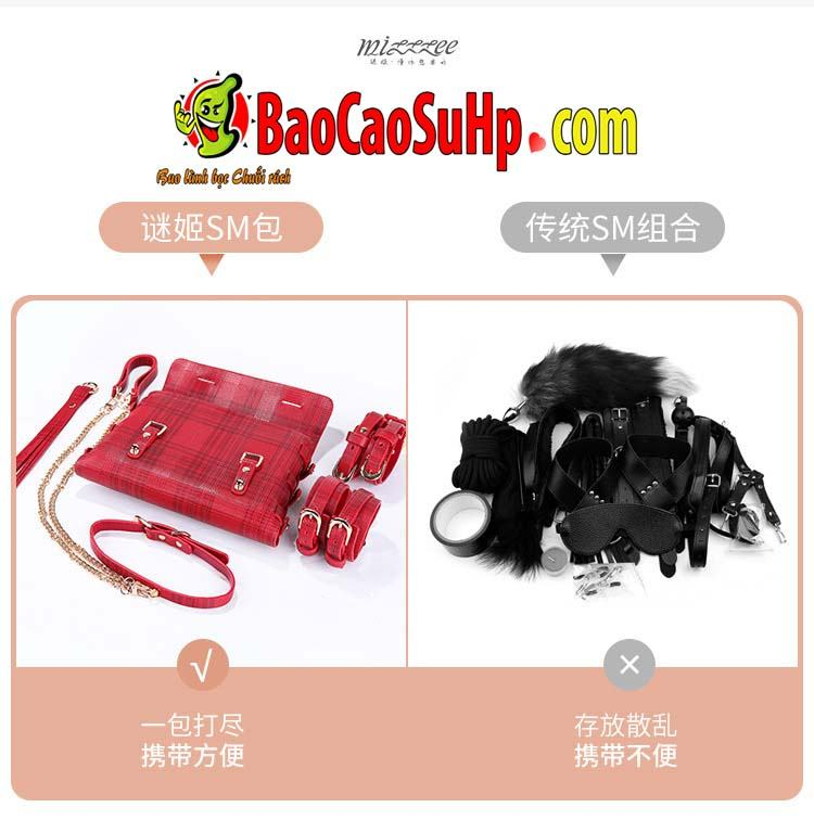 bo bao dam 18 mon Miji Leather Bundle 3 - Bộ Sm bạo dâm 18 món Miji Leather Bundle cao cấp sự khác biệt