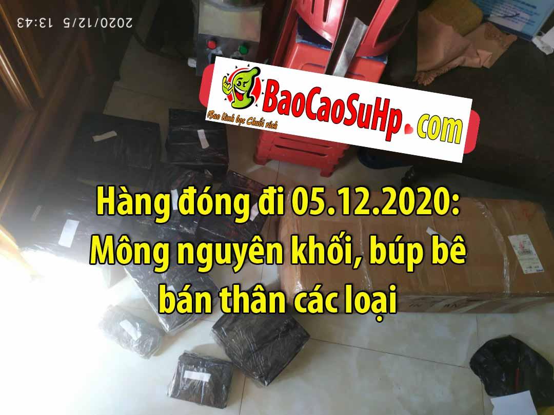 Hang dong di ngay 05122020 - Hàng đóng đi 05.12.2020: Mông nguyên khối, búp bê bán thân các loại