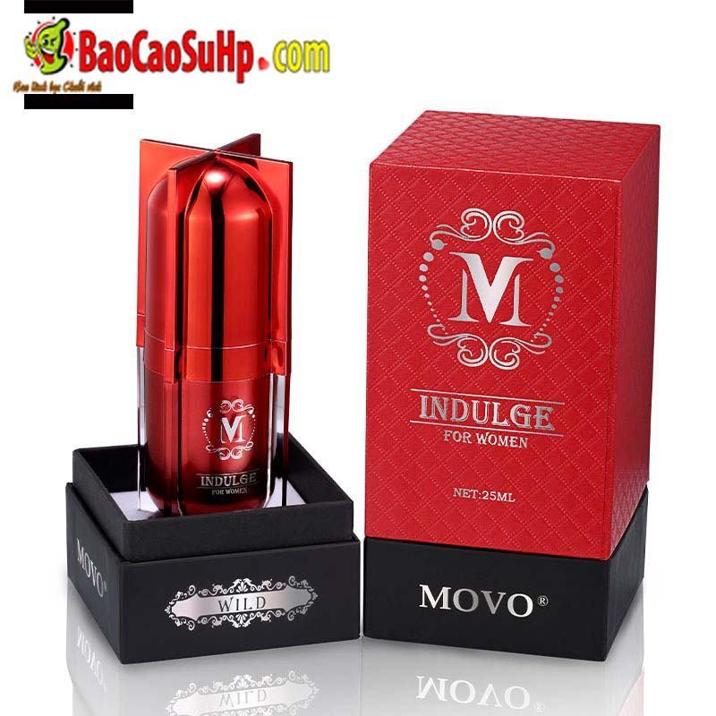 gel movo peptide tang cuc khoai 1 - Gel MOVO nhỏ màu đỏ peptide tăng cực khoái vùng kín phụ nữ