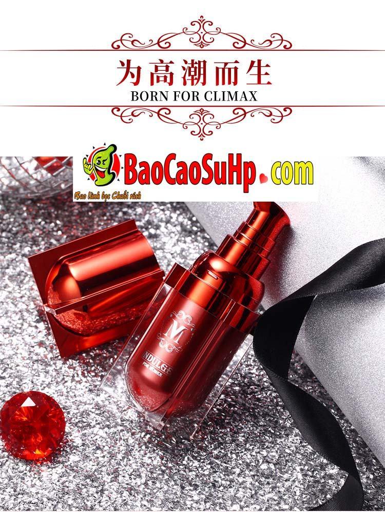 gel movo peptide tang cuc khoai 12 - Gel MOVO nhỏ màu đỏ peptide tăng cực khoái vùng kín phụ nữ