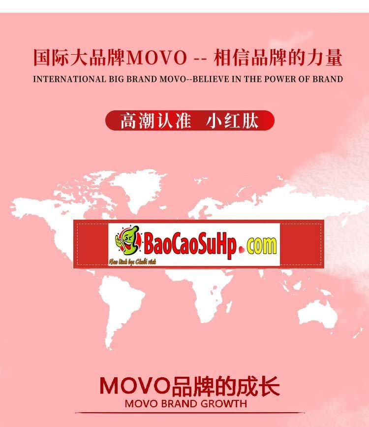 gel movo peptide tang cuc khoai 23 - Gel MOVO nhỏ màu đỏ peptide tăng cực khoái vùng kín phụ nữ