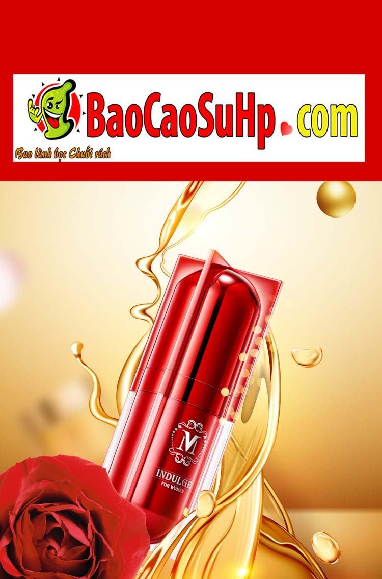 gel movo peptide tang cuc khoai 8 - Gel MOVO nhỏ màu đỏ peptide tăng cực khoái vùng kín phụ nữ