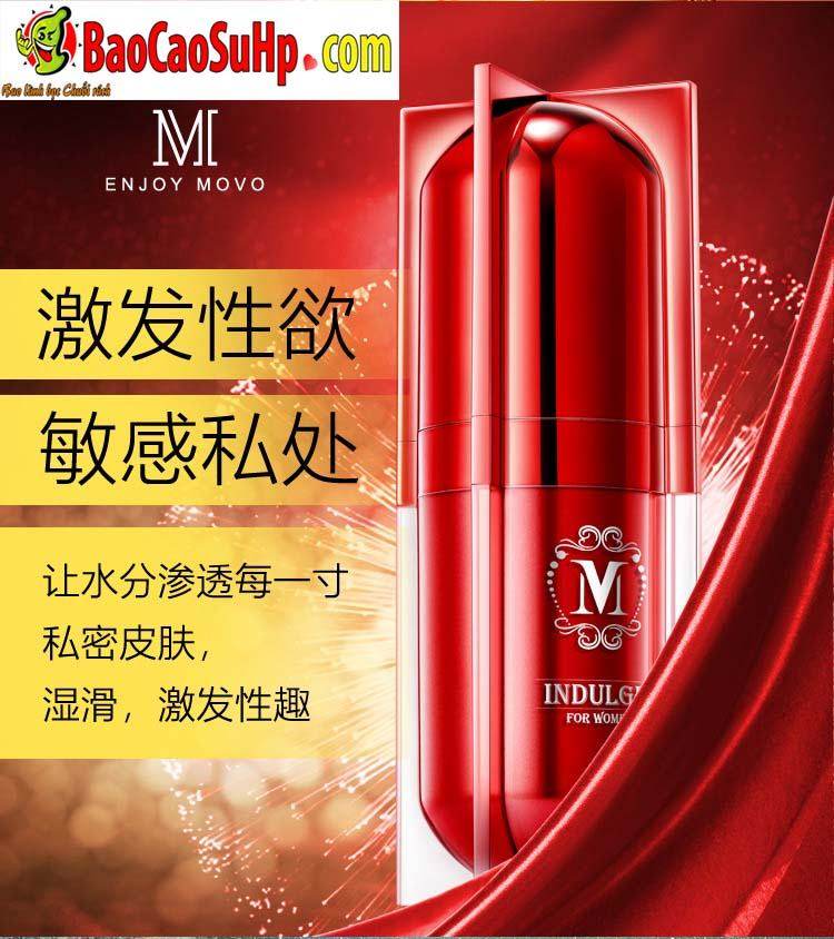 gel movo peptide tang cuc khoai 9 - Gel MOVO nhỏ màu đỏ peptide tăng cực khoái vùng kín phụ nữ