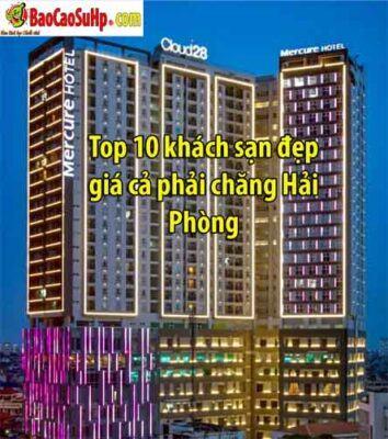 Top 10 khách sạn đẹp giá cả phải chăng Hải Phòng