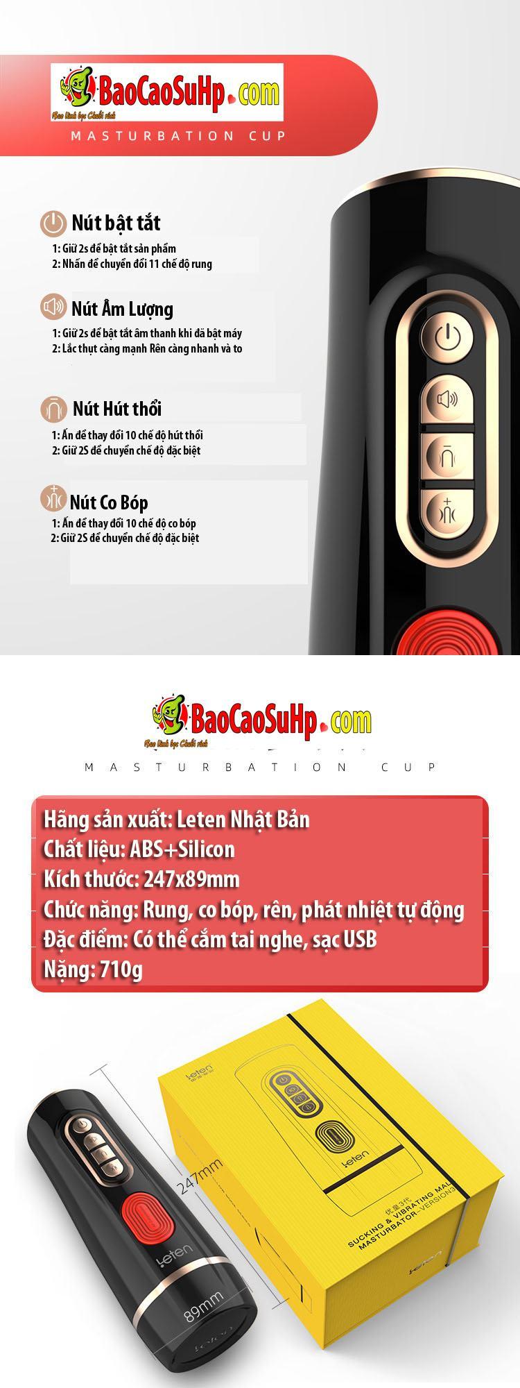 coc am dao Leten co bop Youhuang Eve Life 2021 5 - Cốc thủ dâm tự động Leten co bóp Youhuang Eve Life phiên bản 2021