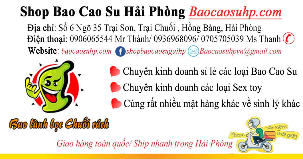 shop bao cao su tai hai phong gia re ship nhanh 3 1 - Mua sextoys đồ chơi tình dục tại Quận Thanh Xuân, Tp Hà Nội ship nhanh
