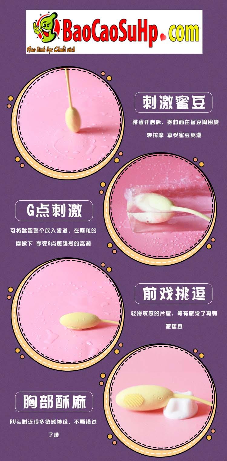 trung rung dieu khien tu xa Jiuuy Play 10 - Trứng rung điều khiển từ xa Jiuuy Play kích thích G cực đã