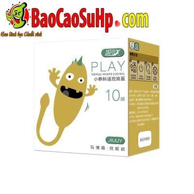 trung rung dieu khien tu xa Jiuuy Play 4 - Trứng rung điều khiển từ xa Jiuuy Play kích thích G cực đã