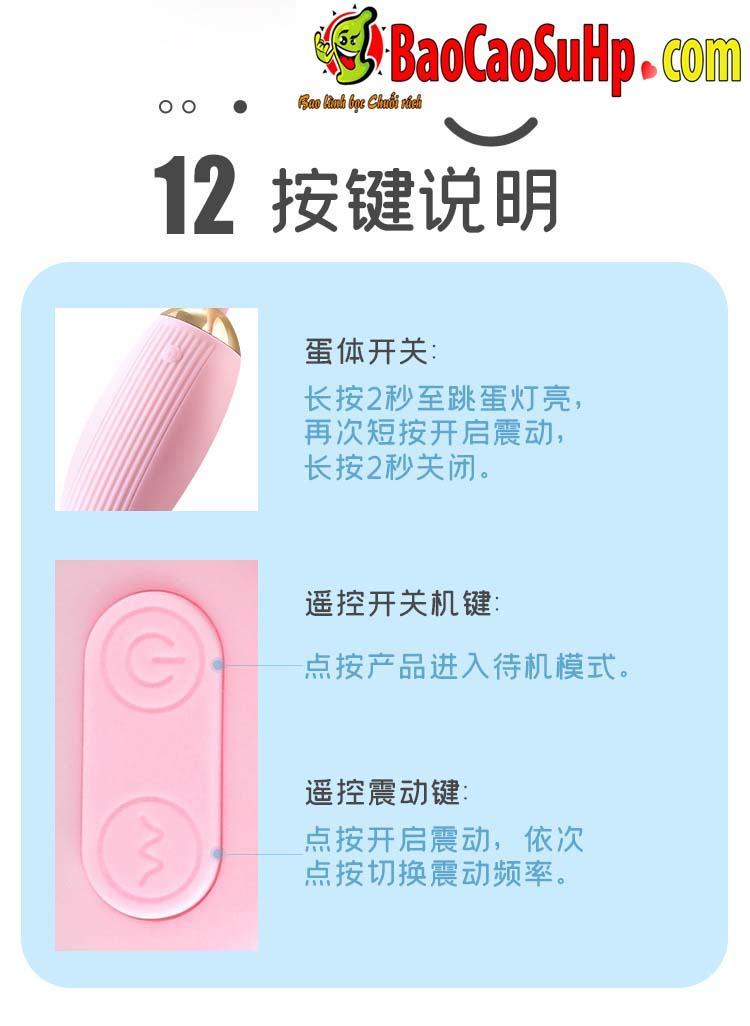 trung rung Mystery Ji Yuetong 14 - Trứng rung Mystery Ji Yuetong 2 đầu rung âm vật massage điểm G cực đã