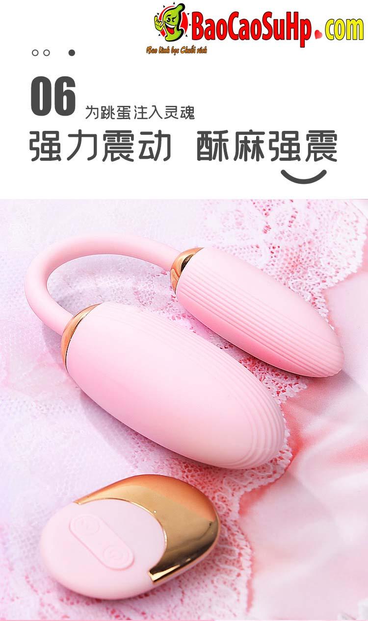 trung rung Mystery Ji Yuetong 7 - Trứng rung Mystery Ji Yuetong 2 đầu rung âm vật massage điểm G cực đã