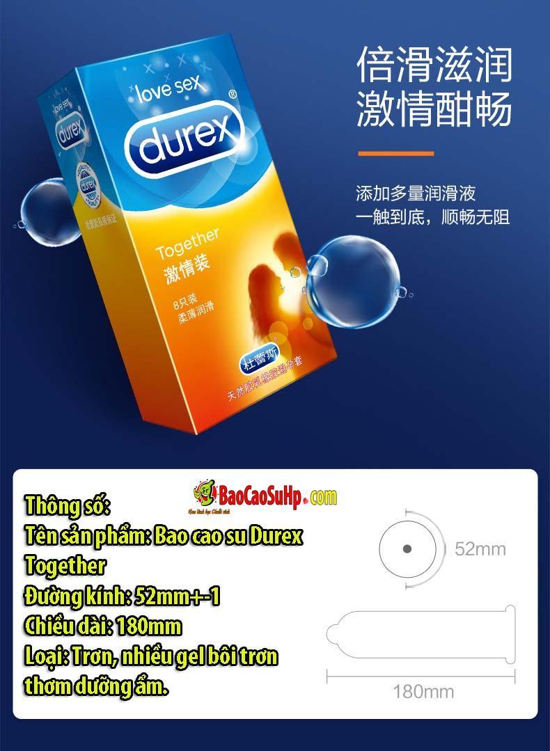 Bao cao su Durex Bold Love 32c 3 - Bao cao su Durex Bold Love 32c Mix 4 loại chính hãng Hải Phòng