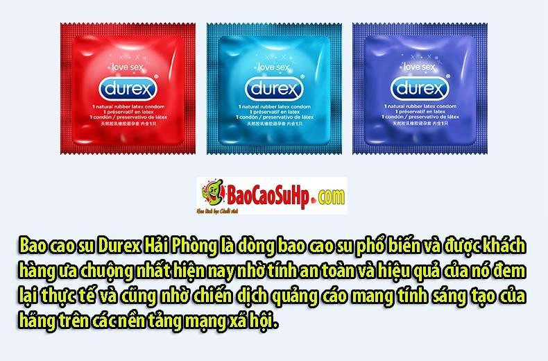 Bao cao su Durex Bold Love 32c 8 - Bao cao su Durex Bold Love 32c Mix 4 loại chính hãng Hải Phòng