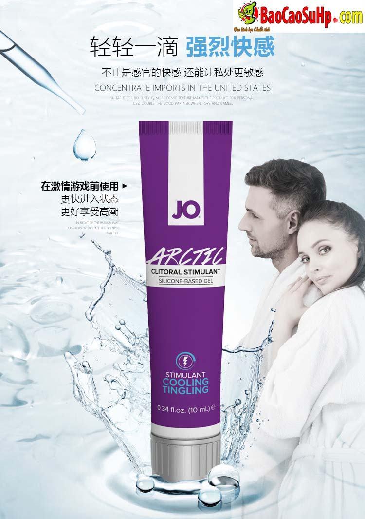 Gel Jo JO® WARM BUZZY 3 - Gel bôi trơn kích thích âm đạo chị em JO® WARM & BUZZY mỹ
