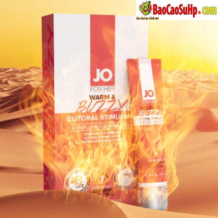 Gel Jo JO® WARM BUZZY 7 1 - Gel bôi trơn kích thích âm đạo chị em JO® WARM & BUZZY mỹ